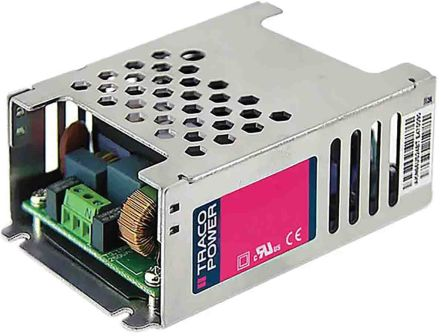 TRACOPOWER , 65W Embedded Switch Mode Power Supply (SMPS), 5 V dc, 15 V dc, Enclosed, Medical Approved