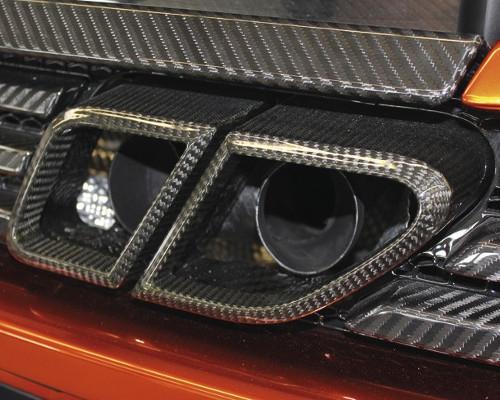 Mansory MP4 221 751 Carbon Fiber Exhaust Blind McLaren MP4-12C 12-14