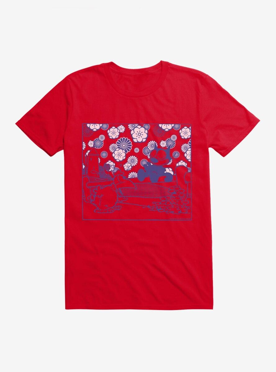 Felix The Cat Railing T-Shirt