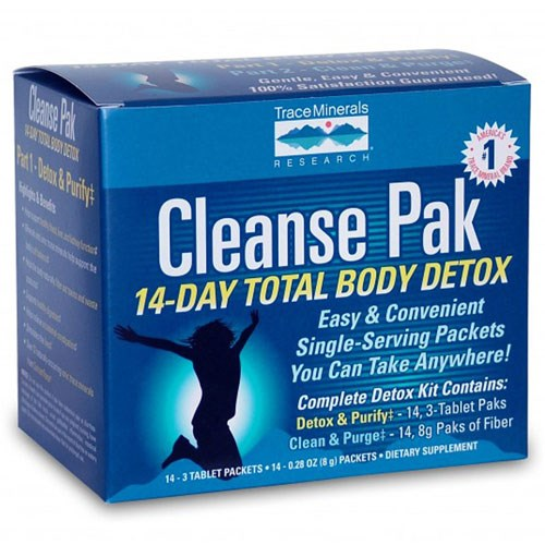 Cleanse Pak 14-Day Total Body Detox Kit by Trace Minerals