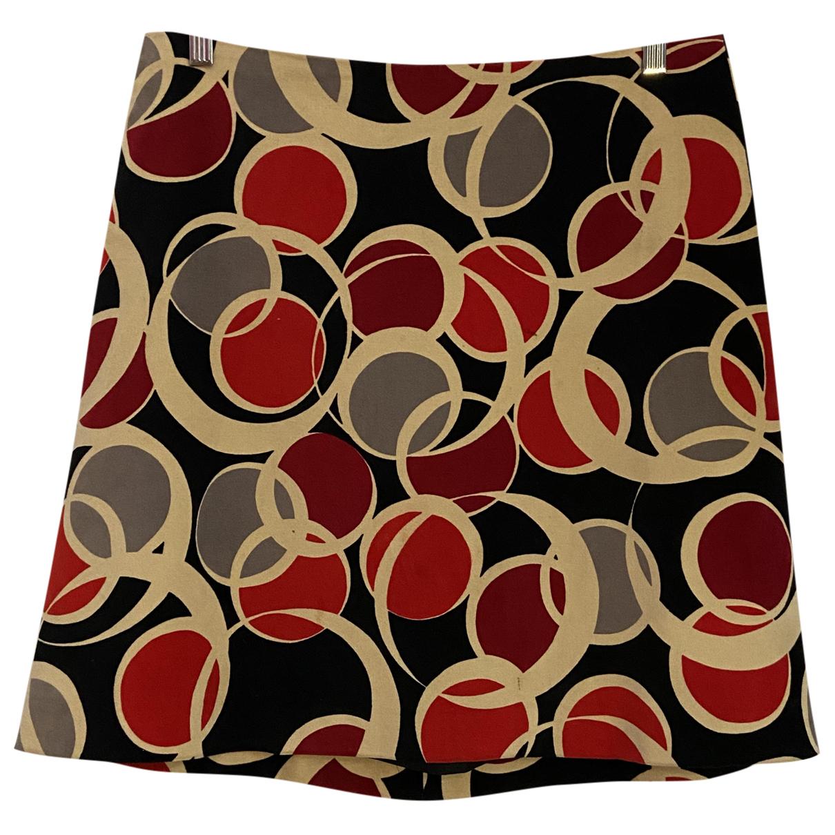 Agnès B. N Red Cotton skirt for Women 42 FR