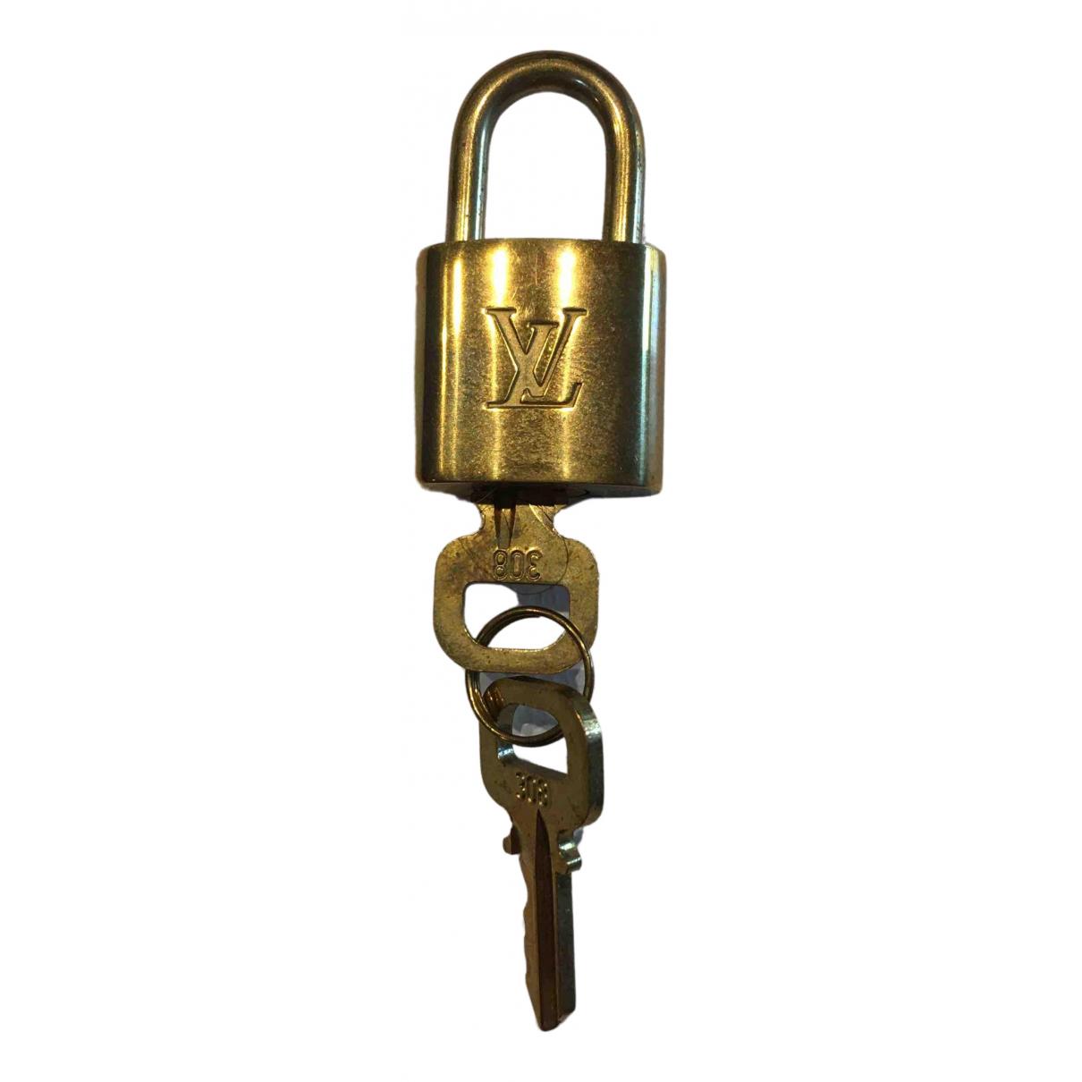 Louis Vuitton \N Kleinlederwaren Gold