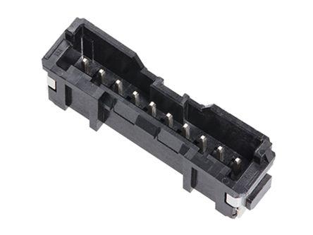 Molex , Micro-Lock PLUS, 505575, 6 Way, 1 Row, Vertical PCB Header (600)