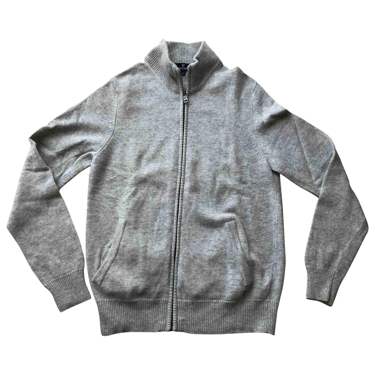 Faconnable - Pulls.Gilets.Sweats   pour homme en laine - gris