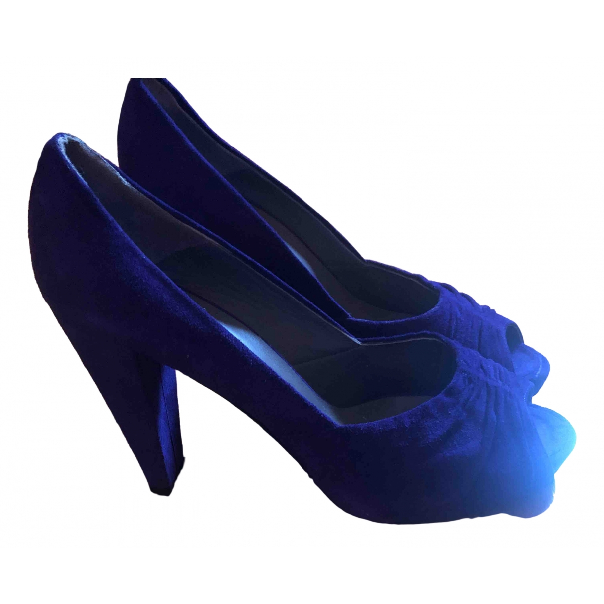 Castaner \N Purple Suede Heels for Women 40 IT