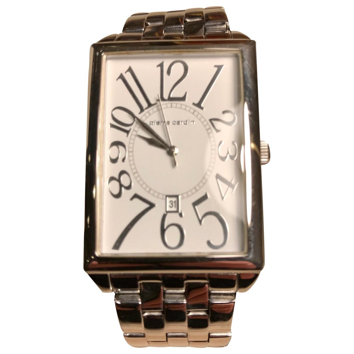 Pierre Cardin \N Uhr in  Silber Stahl
