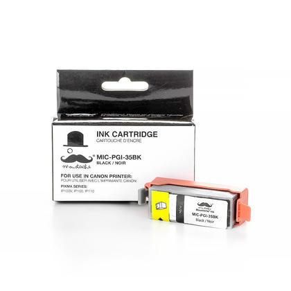 Canon PGI35 Compatible Black Ink Cartridge (1509B002) - Moustache®