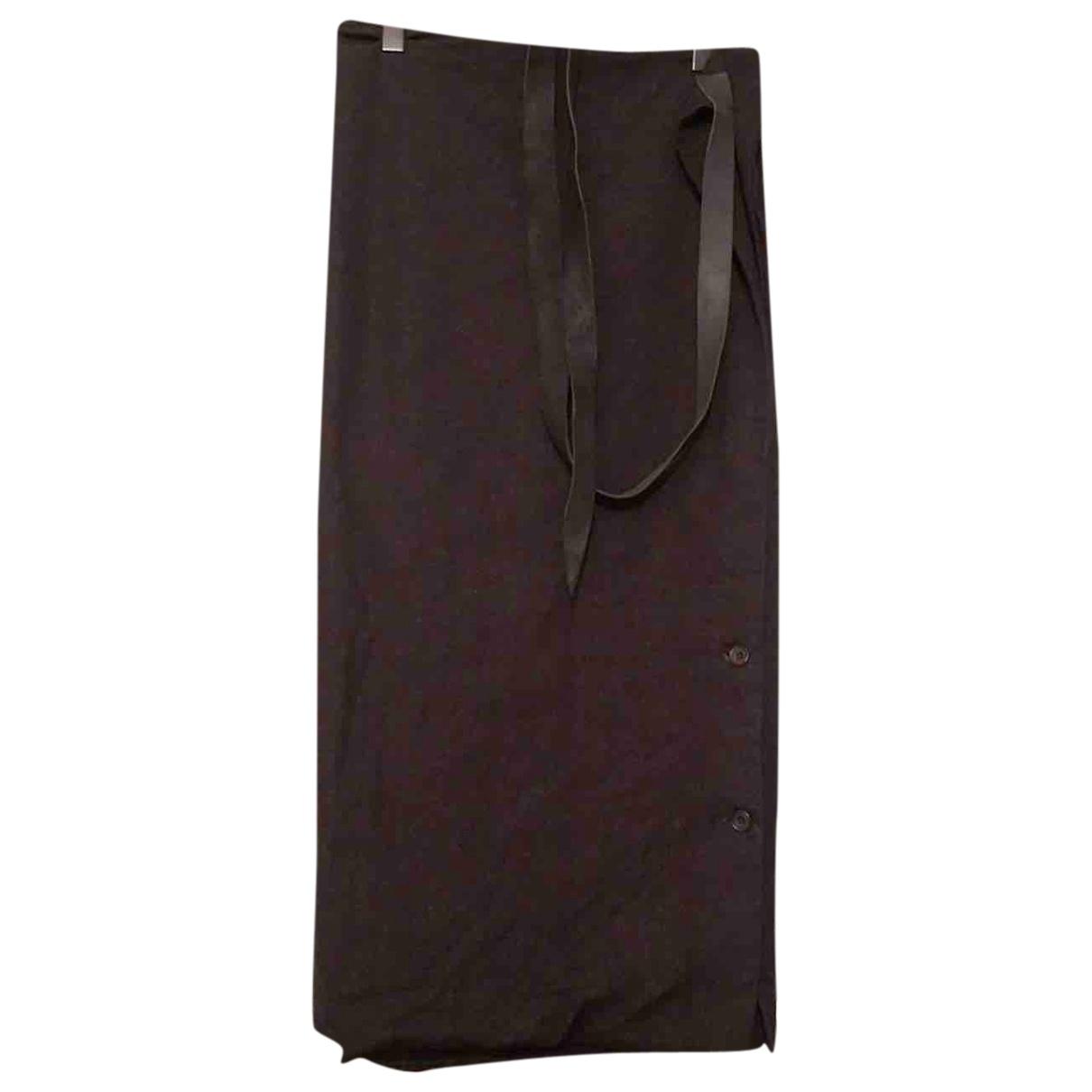 Paul Harnden Shoemakers \N Black Cotton skirt for Women M International