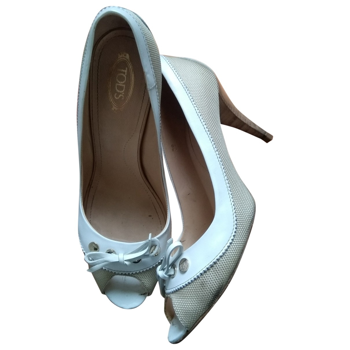 Tod's \N Cloth Heels for Women 39 EU