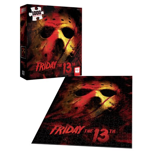 Friday the 13th 1,000 Piece Puzzle