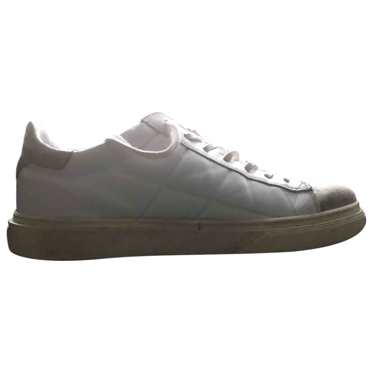 Hogan - Baskets   pour homme en cuir - blanc