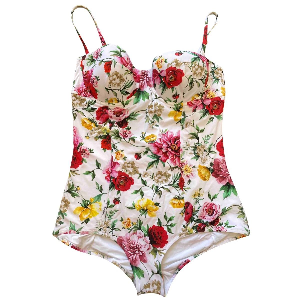 Dolce & Gabbana \N Badeanzug in  Bunt Polyester