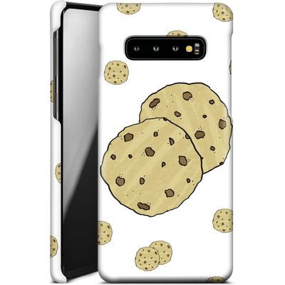 Samsung Galaxy S10 Plus Smartphone Huelle - Cookies von caseable Designs