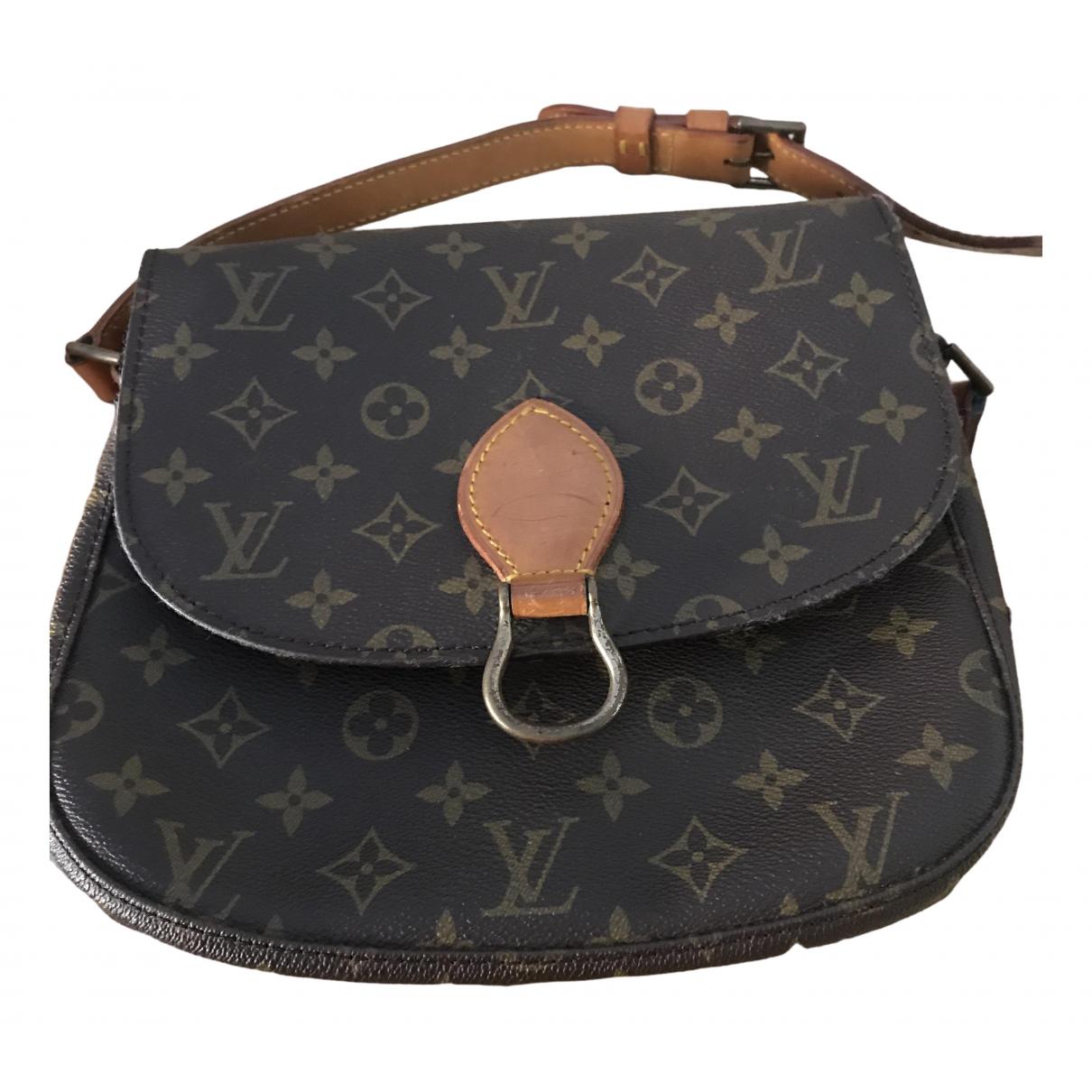 Louis Vuitton Saint Cloud vintage Brown Cloth handbag for Women \N