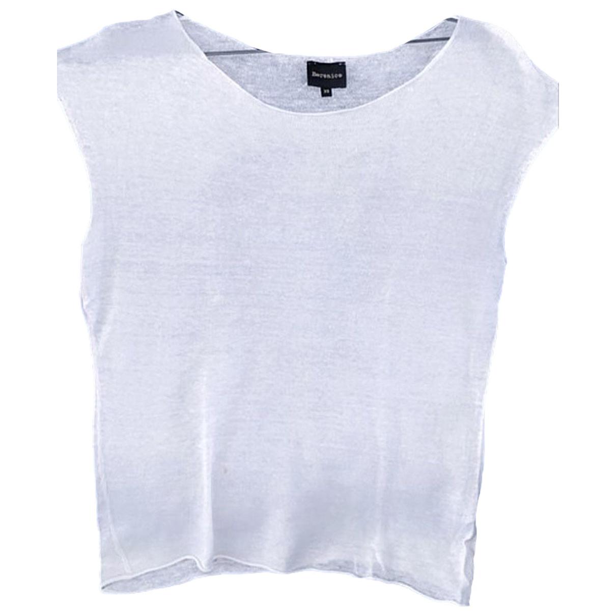 Berenice N White Cotton  top for Women 36 FR