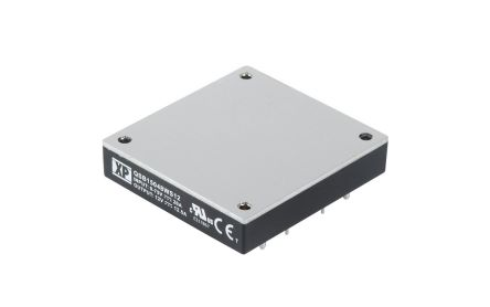 XP Power QSB15048W 150W Isolated DC-DC Converter PCB Mount, Voltage in 9 ? 75 V dc, Voltage out 15V dc