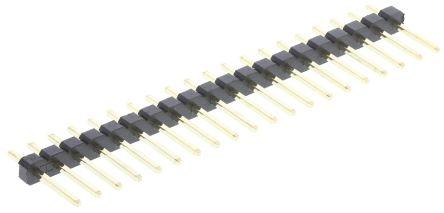 ASSMANN WSW , AW, 20 Way, 1 Row, Straight Pin Header (5)