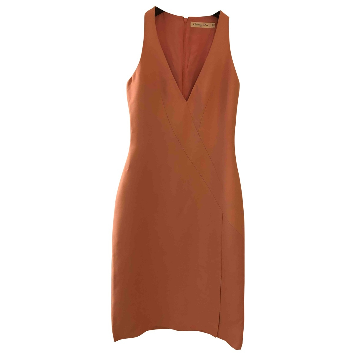 Christian Dior \N Pink Wool dress for Women 36 FR