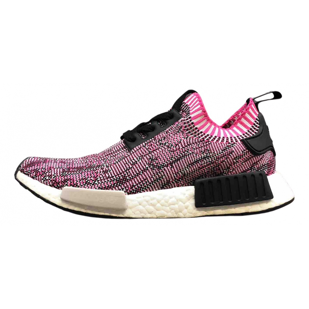 Adidas Nmd Pink Cloth Trainers for Women 41.5 EU