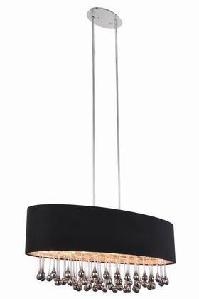2105G36C/RC Metro Collection Pendant Lamp L:36 W:15.7 H:15 Lt:6 Chrome Finish Royal Cut