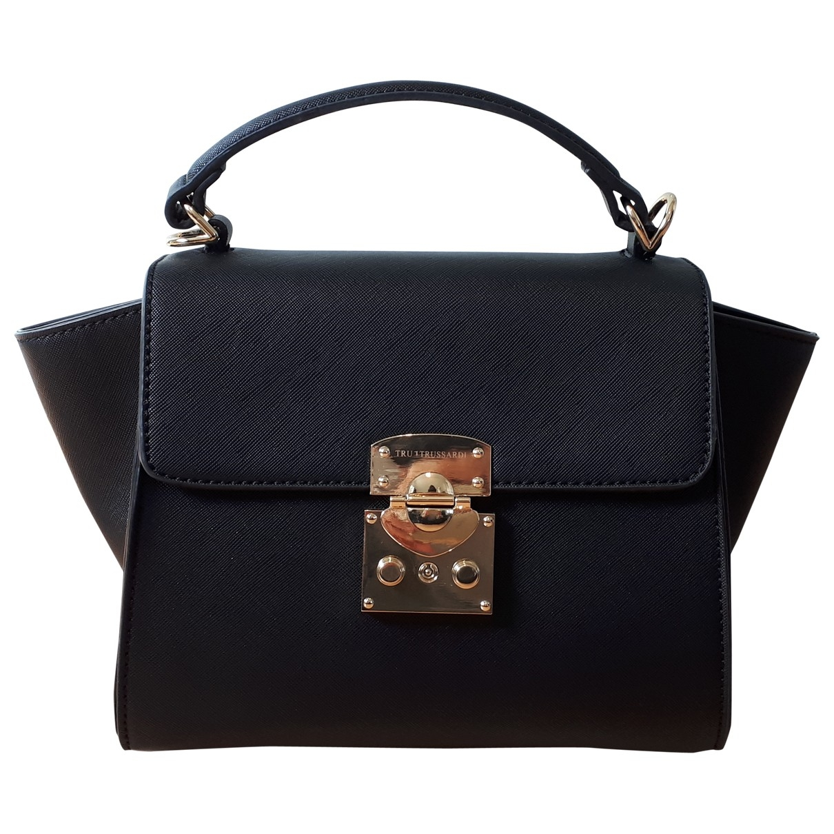 Trussardi \N Black Leather handbag for Women \N