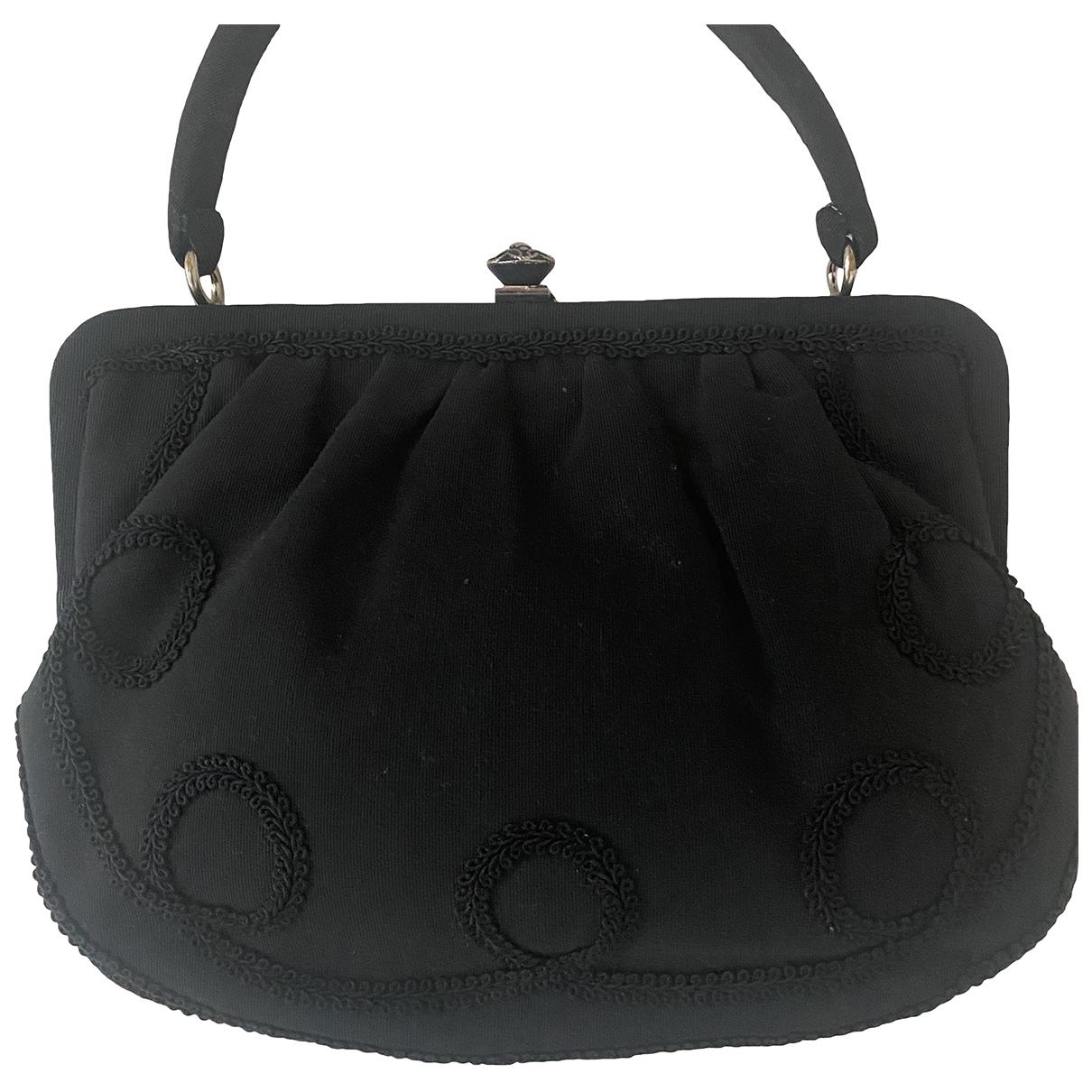 Non Signé / Unsigned N Black Cloth handbag for Women N