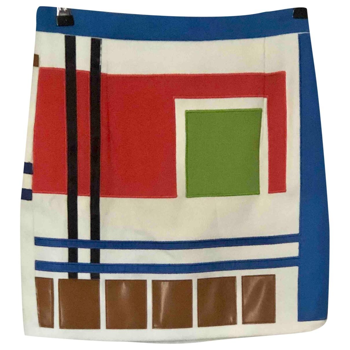 Dsquared2 - Jupe   pour femme en coton - multicolore