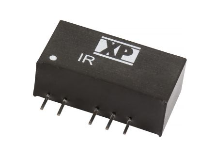 XP Power IR 3W Isolated DC-DC Converter Through Hole, Voltage in 4.5 → 5.5 V dc, Voltage out ±15V dc