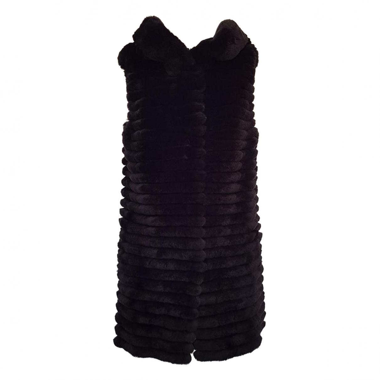 Simonetta Ravizza \N Pullover in  Schwarz Kaninchen
