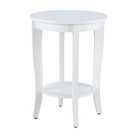 End Table, One Size , White