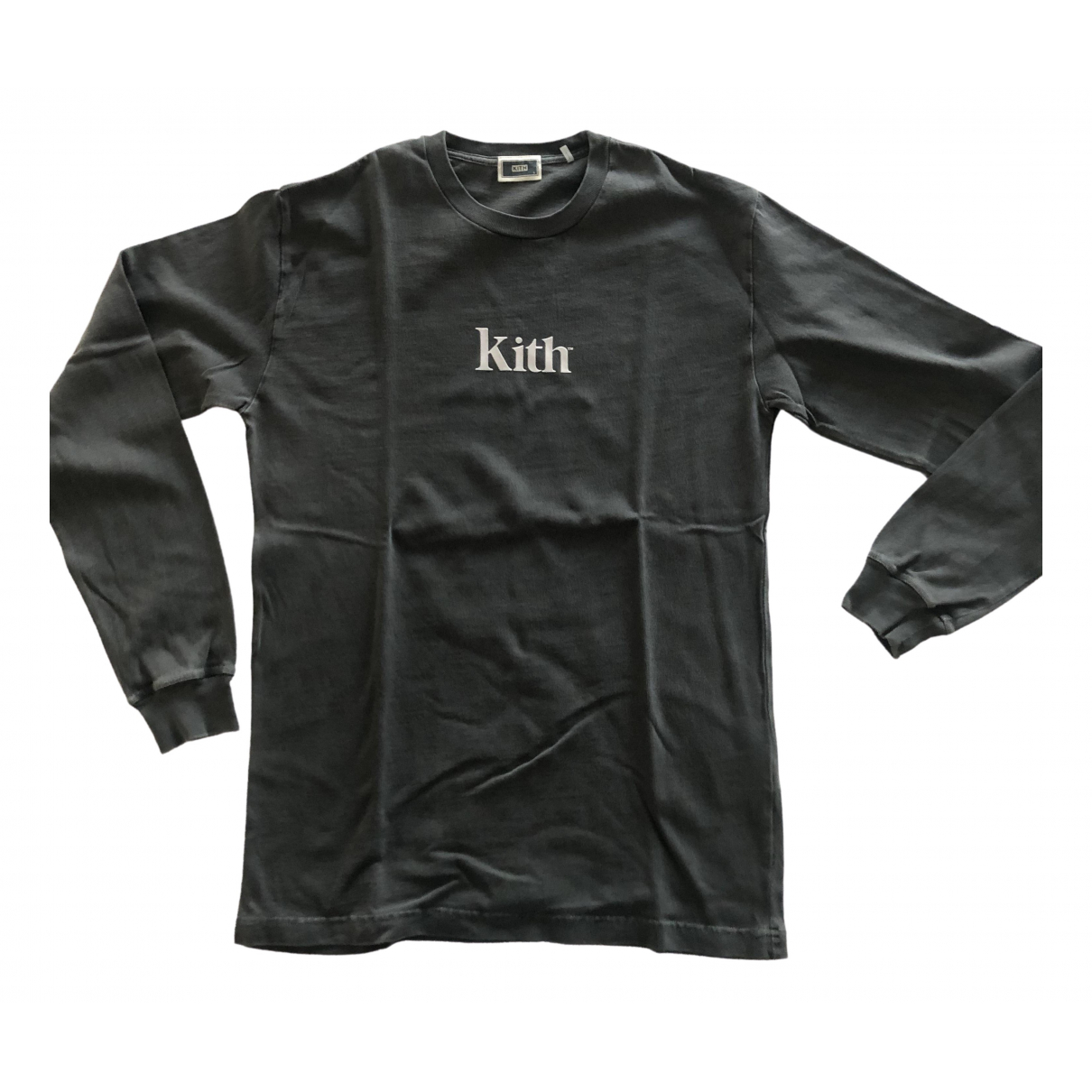 Kith \N Grey Cotton T-shirts for Men S International
