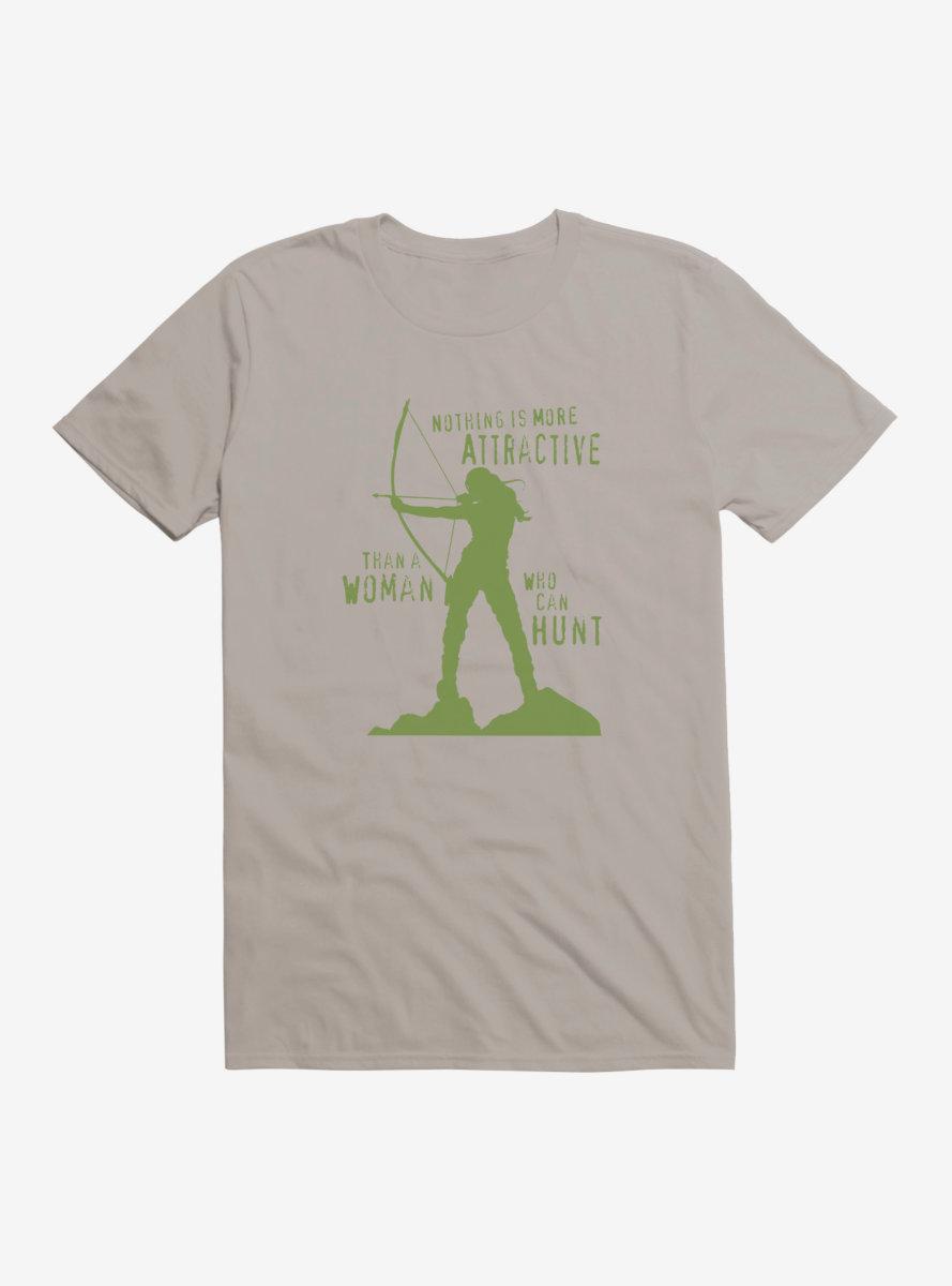 DC Comics Arrow Woman On A Hunt T-Shirt