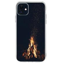 Fire Print iPhone Case
