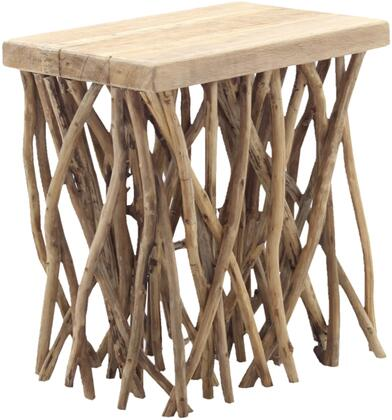 Java Collection 674531 Stick Stool in Rustic Natural