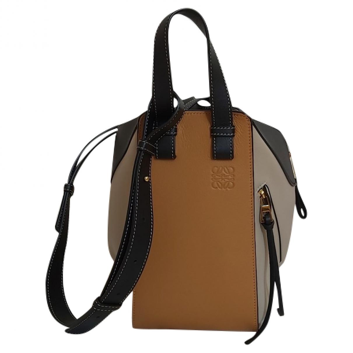Loewe Hammock Multicolour Leather handbag for Women \N