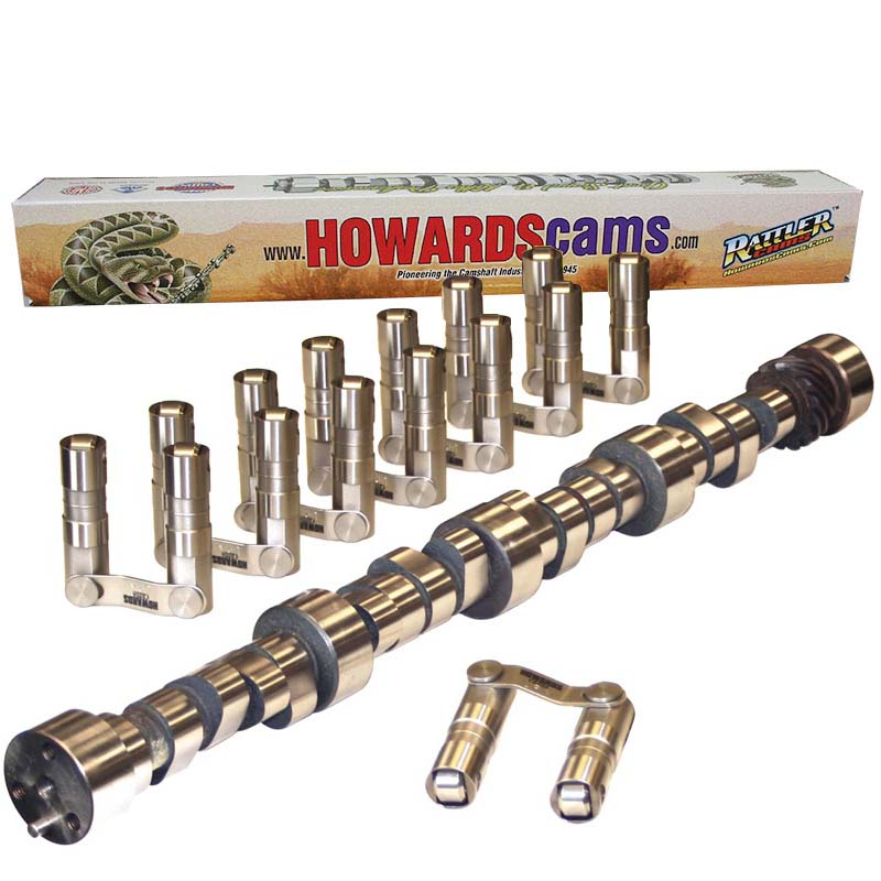 Hydraulic Roller Big Mama Rattler Camshaft & Lifter Kit; 1965 - 1996 Chevy 396-502 (Mark IV) 2000 to 5900 Howards Cams CL128045-09 CL128045-09