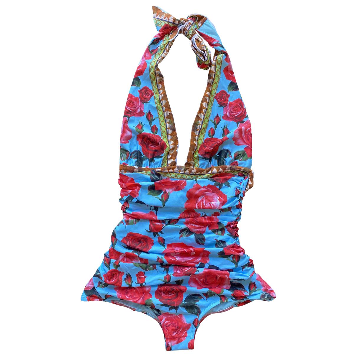 Dolce & Gabbana \N Badeanzug in  Blau Synthetik