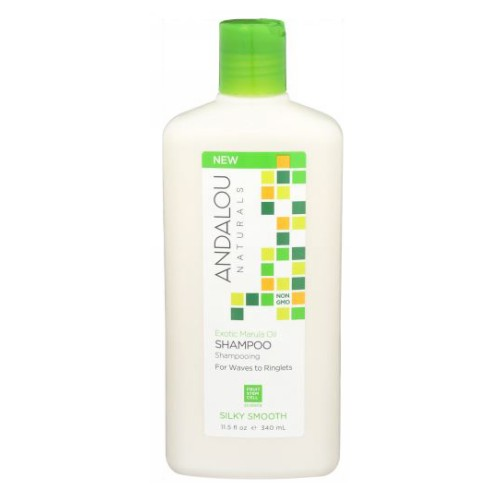 Exotic Marula Oil Silky Smooth Shampoo 11.5 Oz by Andalou Naturals