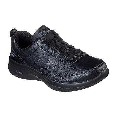 Skechers Go Walk - Steady Womens Walking Shoes, 6 1/2 Medium, Black
