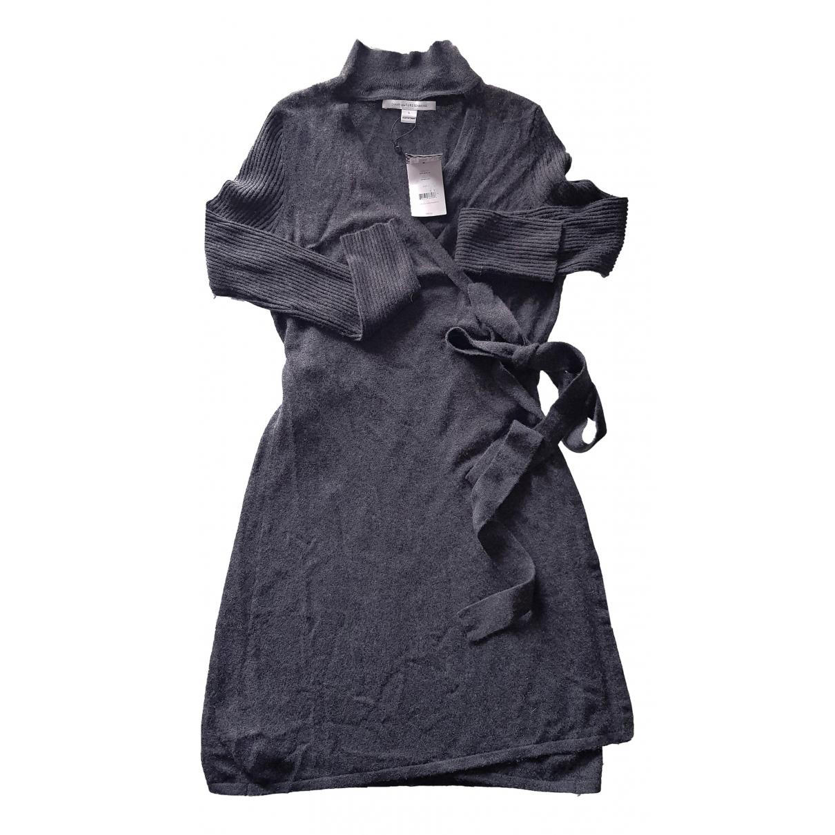 Diane Von Furstenberg \N Grey Cashmere dress for Women L International