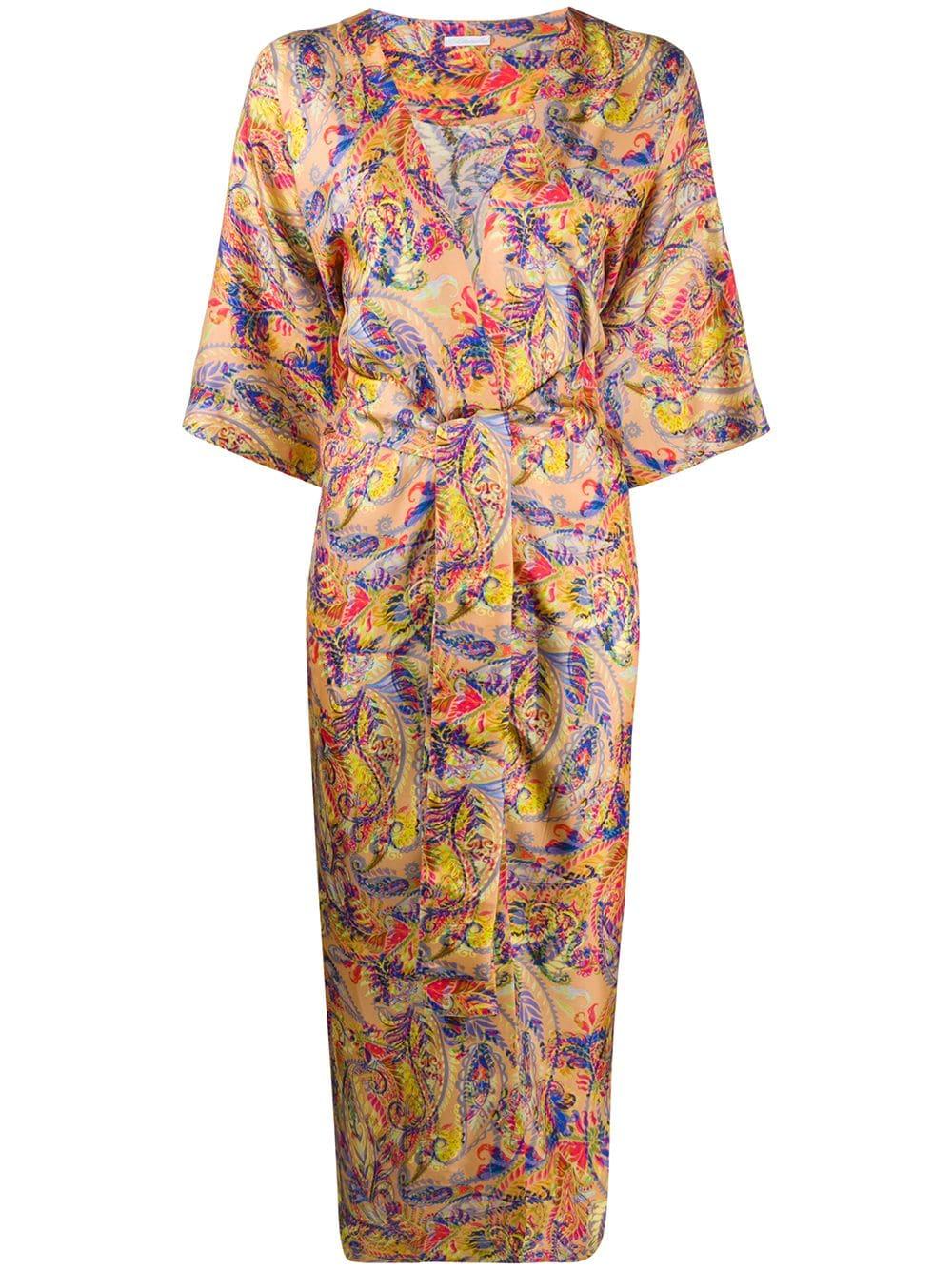 Printed Silk Kimono