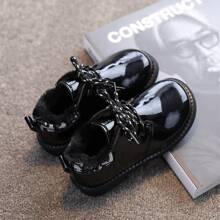 Zapatillas de niñas con cordon delantero