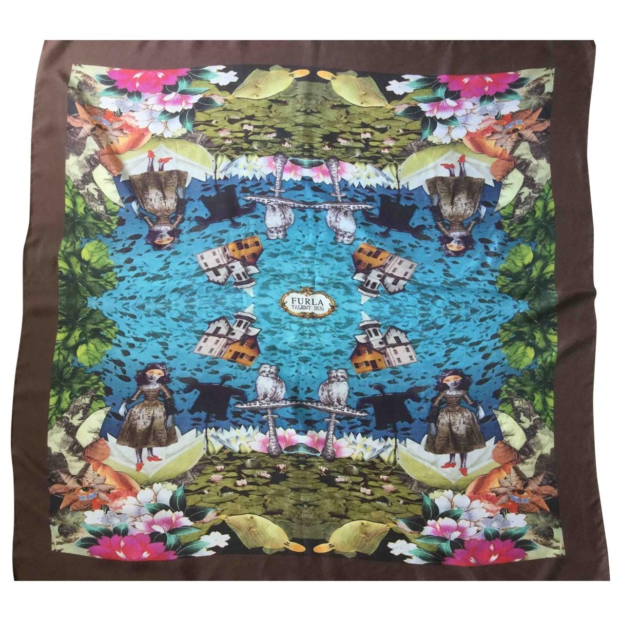 Furla \N Multicolour Silk Silk handkerchief for Women \N