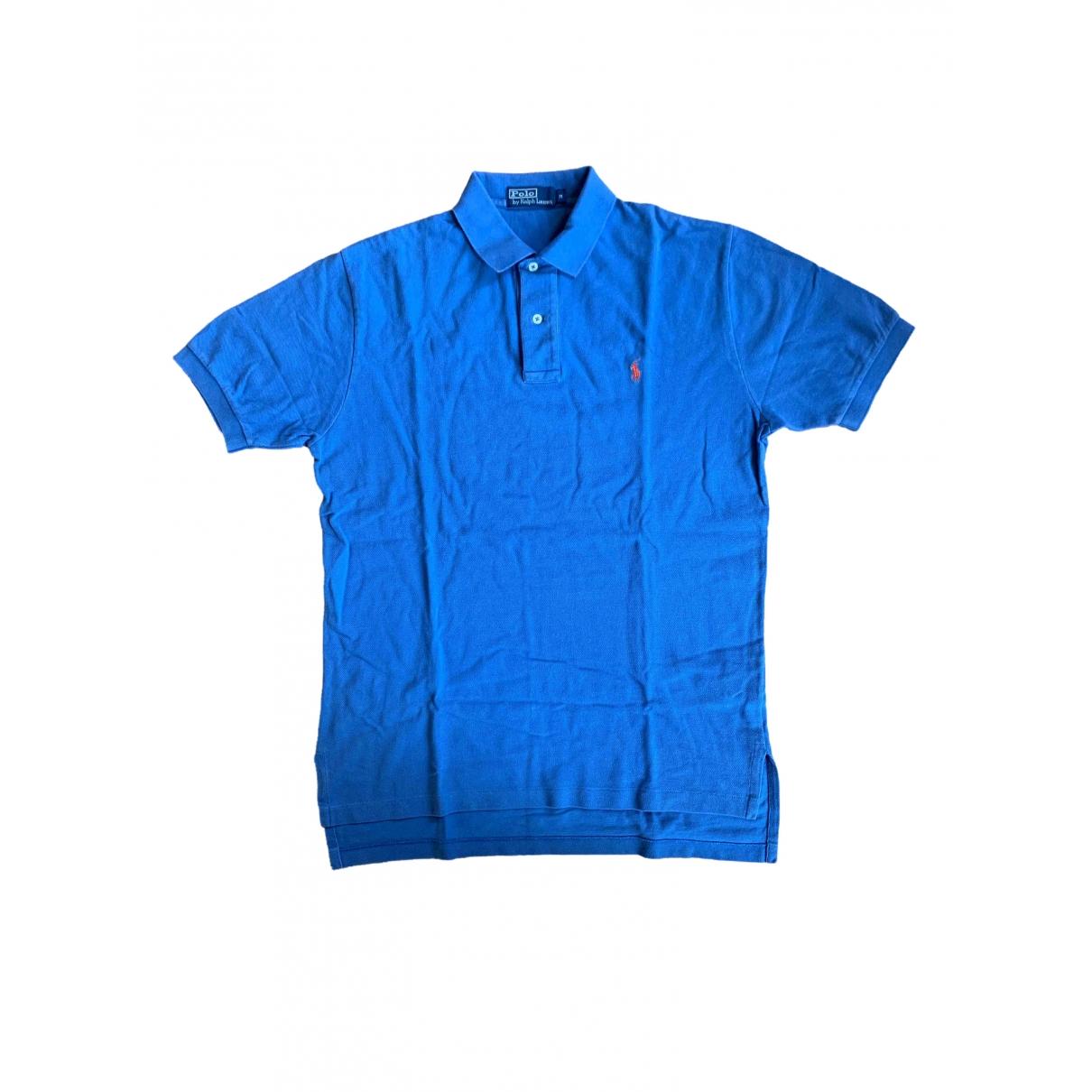 Polo Polo cintre manches courtes en Algodon Azul Polo Ralph Lauren