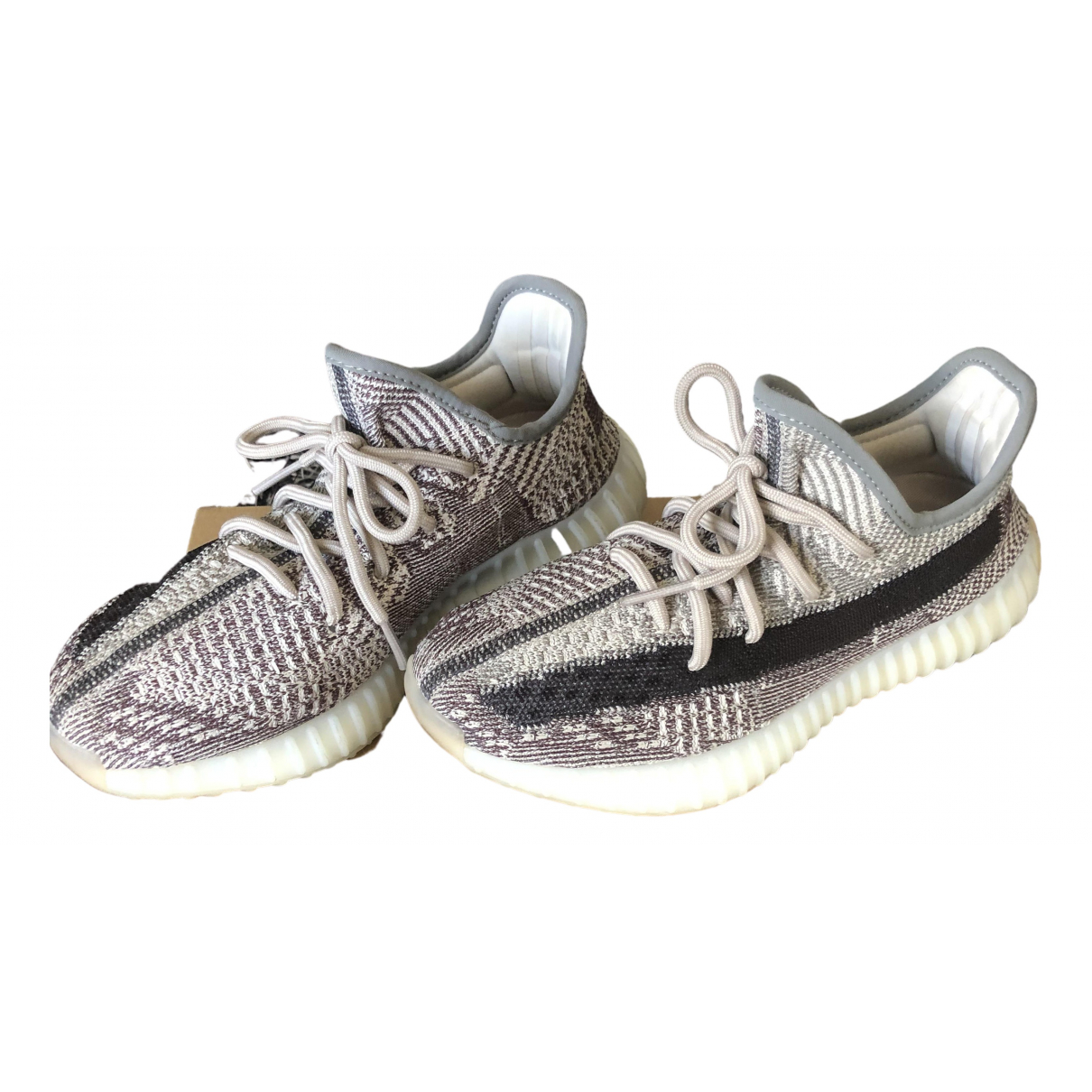Yeezy X Adidas - Baskets Boost 350 V2 pour femme en toile - anthracite