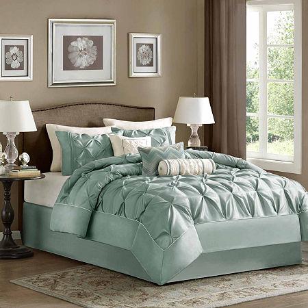Madison Park Flora 7-pc. Comforter Set, One Size , Green
