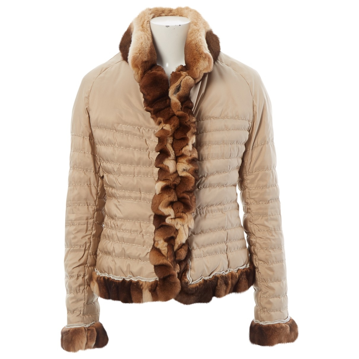Ermanno Scervino \N Beige jacket for Women 44 IT