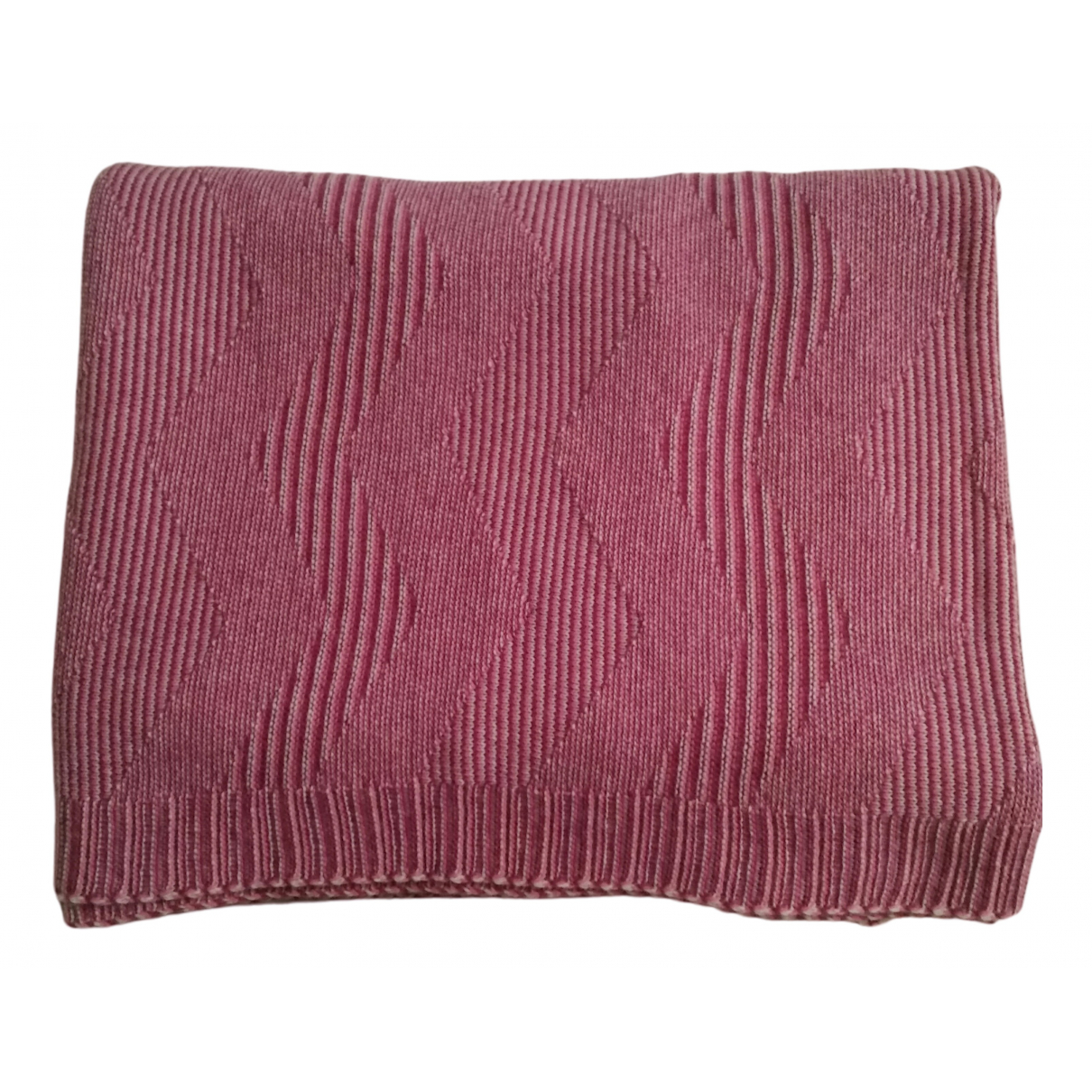 Missoni N Pink Wool Textiles for Life & Living N