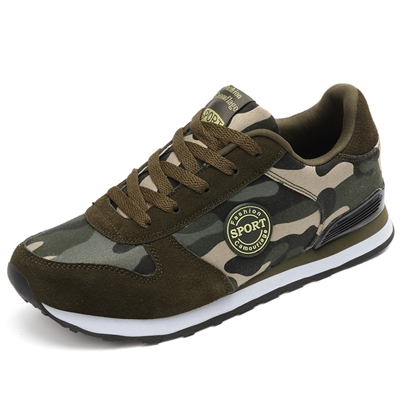 Ericdress Camouflage Lace up Men's Athletic Shoes