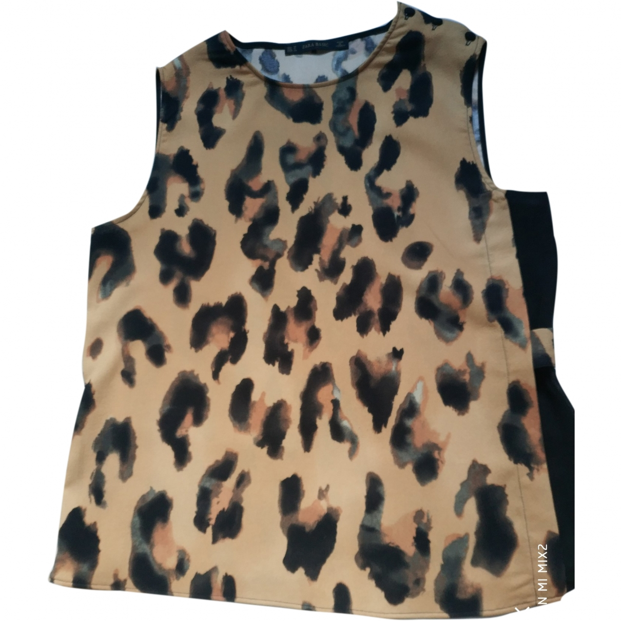 Zara \N Camel  top for Women M
